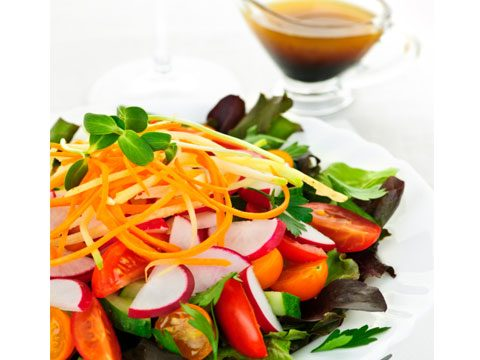 live longer by eating salad with meals