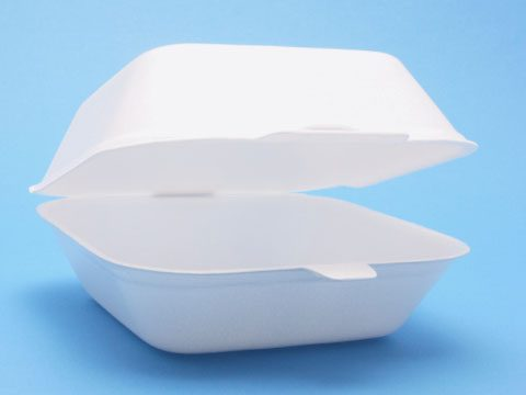 "1. ""Clamshell"" takeout food containers"