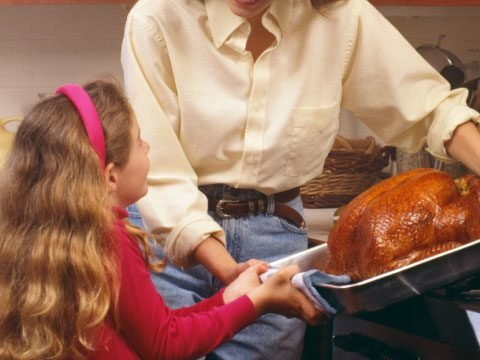 funny Thanksgiving help line calls about slow cooking the turkey