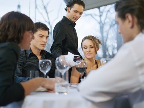 4. If you prefer not to have wine while dining out, don't turn your glass upside down