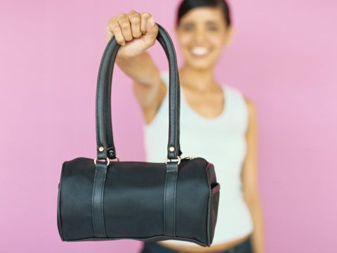 1. Clean out your purse.