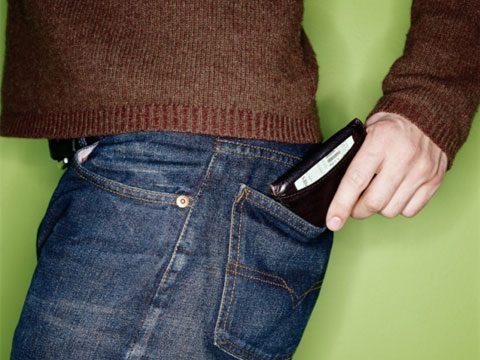 2. Carry less cash.