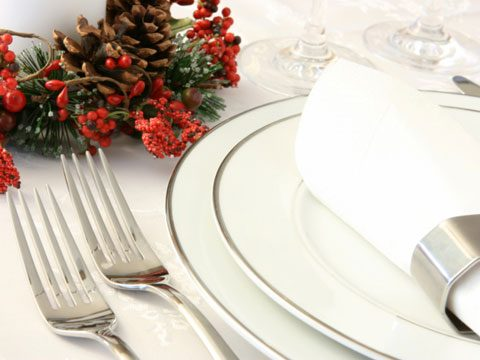 12. Set an extra place at Christmas dinner