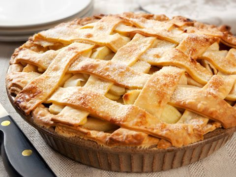 1. Pie? Have a slice of apple lattice instead of a serving of apple crumb. Calories saved: 70