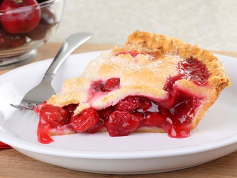 2. And, hold the ice cream on the pie; opt for a plain piece of fruit pie instead. Calories saved: 75-100