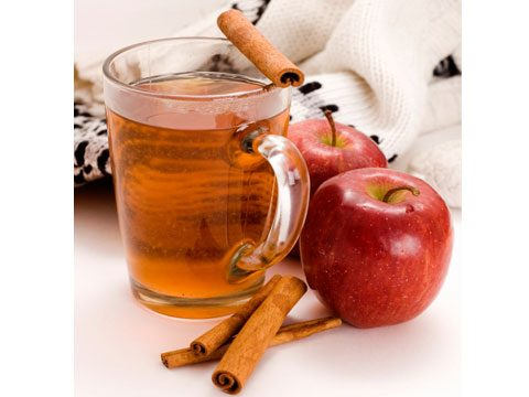 9. Instead of a cup of eggnog during the holidays, have hot apple cider with a cinnamon stick. Calories saved: 100