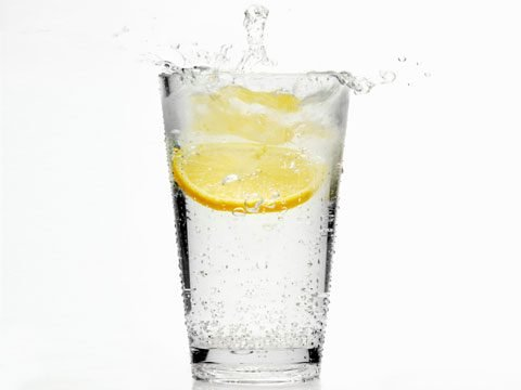 14. Sparkling water or club soda?