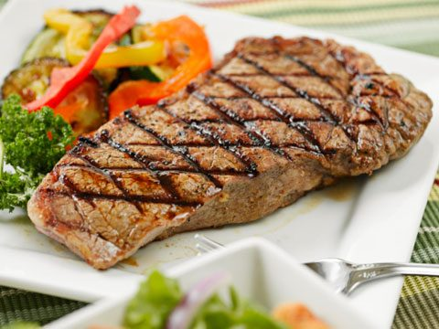 15. Sirloin steak or rib-eye?