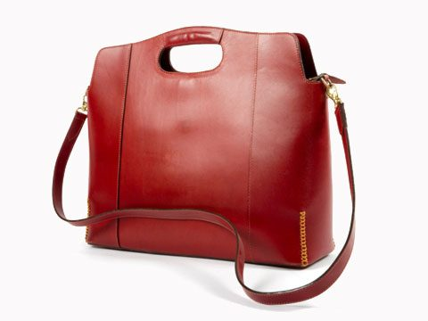 5. Leather bag