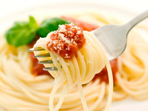1. Pasta was brought back from China by Marco Polo