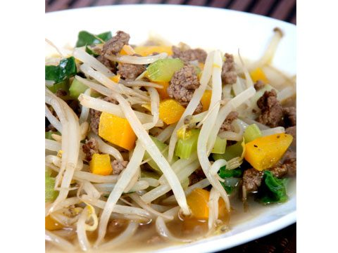 4. Chop suey is also an American dish