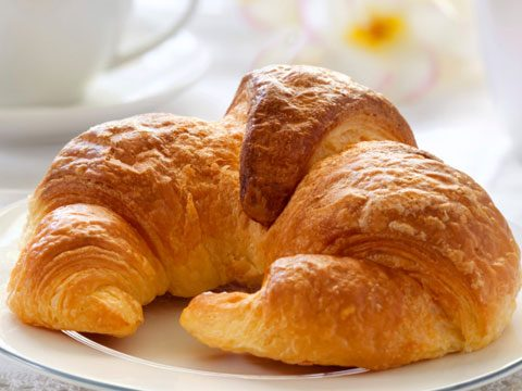 6. The croissant was not invented in France