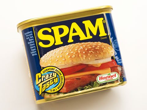 3. SPAM stands for something!