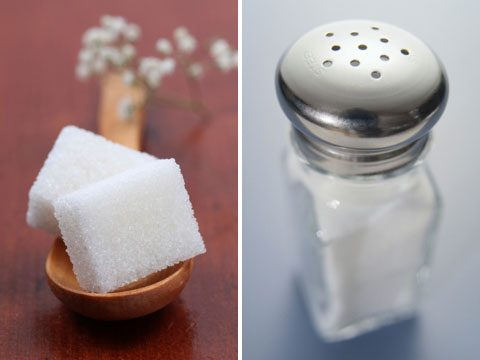 5. Sugar and salt combo