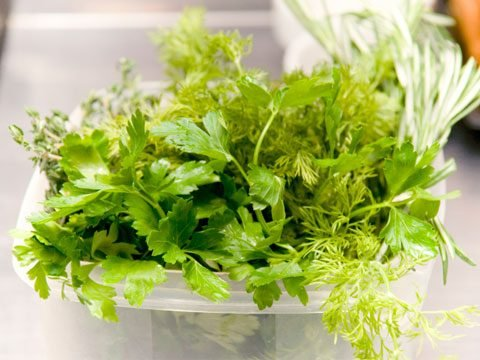 Freezer Foods for Quick Cooking, herbs