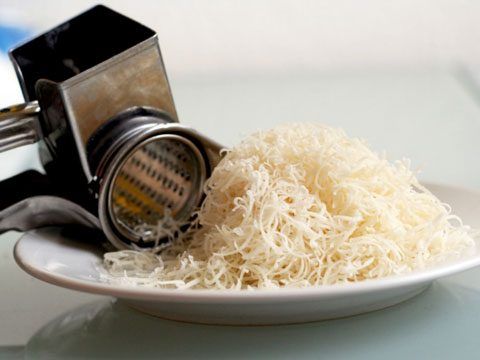 7. Grated cheese