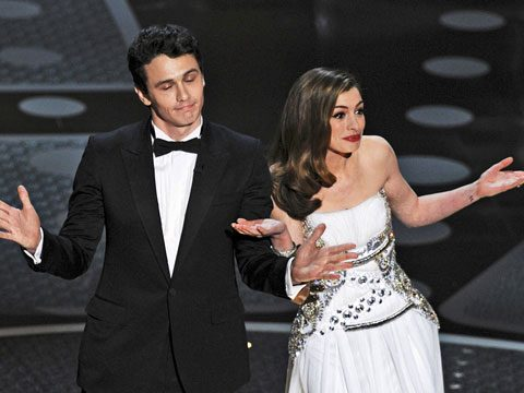 Funniest Moments of 2011, James Franco and Anne Hathaway