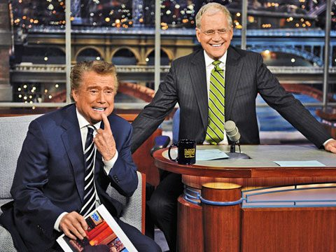 Funniest Moments of 2011, Regis Philbin and David Letterman