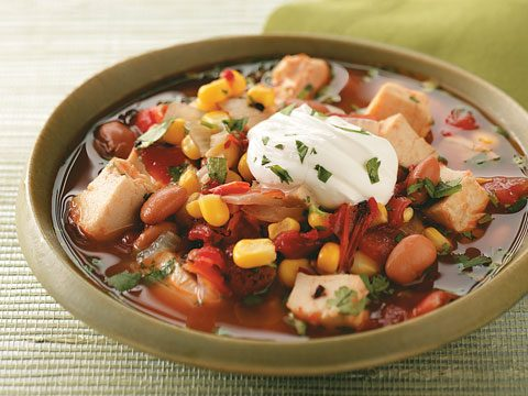 Hearty Chiptole Chicken Soup