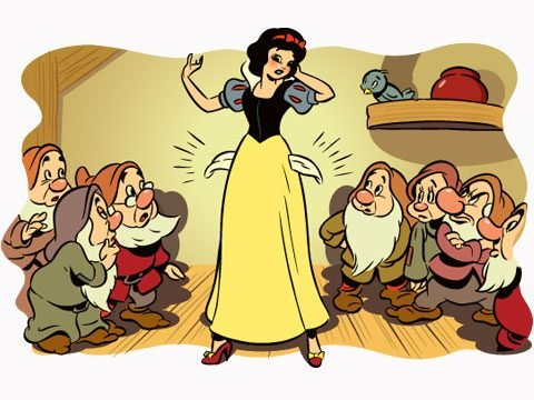 Once Upon a Bankruptcy Snow White