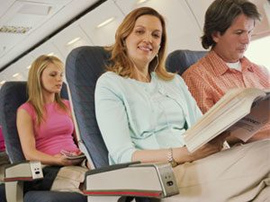 airplane passengers