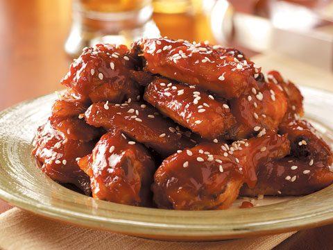 Sweet-n-Tangy Chicken Wings
