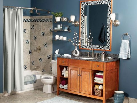Bathroom Makeovers On A Budget Readers Digest - Budget friendly bathroom remodels