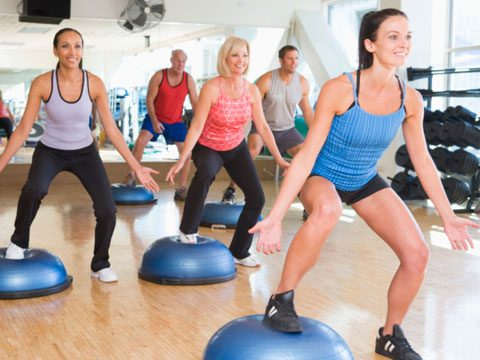 3. Take a group exercise class