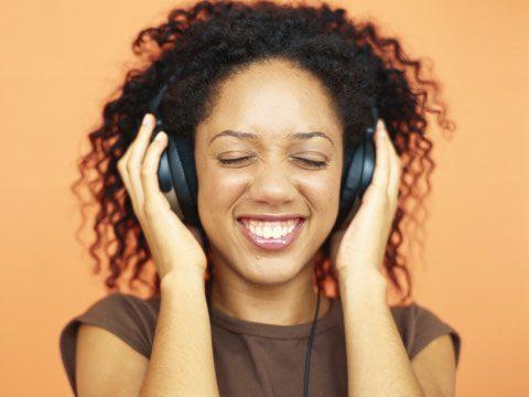7. Listen to music