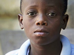 miracle boy from Haiti