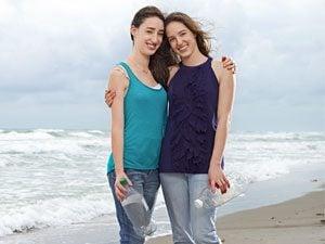 Allison and Jillian Samowitz