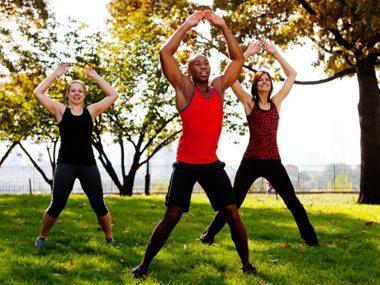 1-minute fat releasing workouts jumping jacks