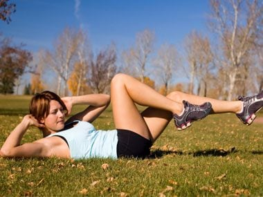 1-minute fat releasing workouts bicycle abs