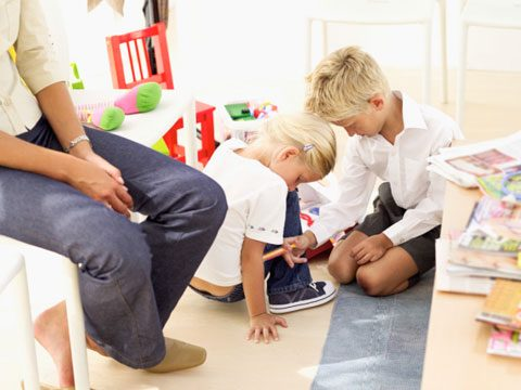 pediatrician secrets children waiting area
