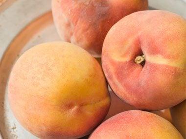 pancake add-ins peaches