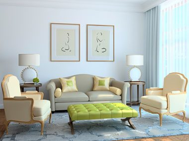 color psychology tips for your home living room