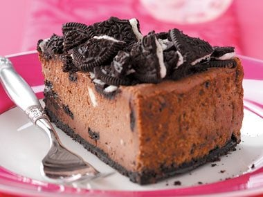 Chocolate Cookie Cheesecake