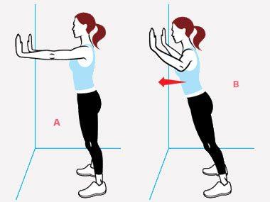 Basic Move: Wall Push-Up