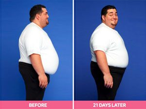 Joe Before and After the Digest Diet
