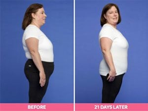 Debbie Before and After the Digest Diet
