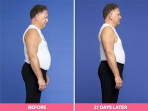 Jean-Claude Before and After the Digest Diet