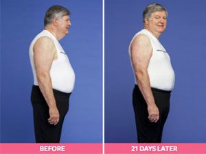 Stan Before and After the Digest Diet