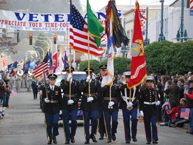 How Auburn, WA Honors Veterans