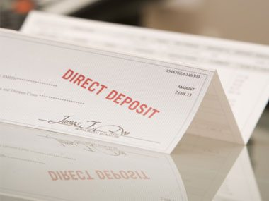 IRS agent secrets direct deposit