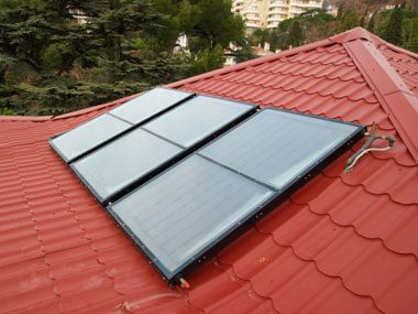 IRS agent secrets solar water heater