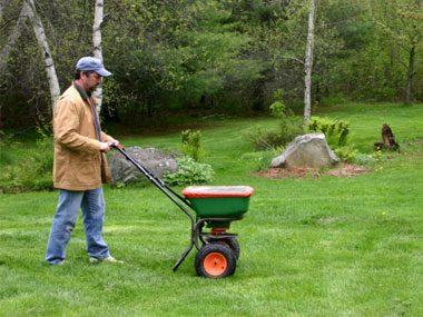 landscaper secrets fertilizing lawn