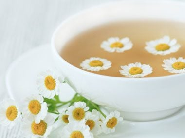 Chamomile Tea: for inflammation