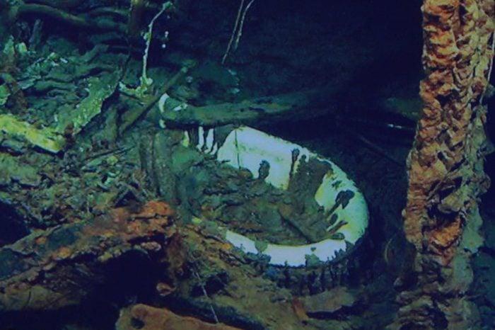 Underwater footage of Titanic, Titanic Belfast