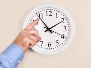 Daylight Saving Clock change
