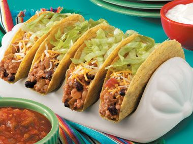 Curried Turkey Tacos